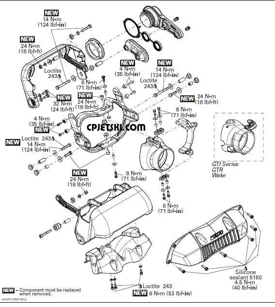 Ski Doo 215 Engine Diagram
